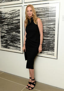 Uma Thurman attends the HRC Marriage for Equality USA celebration at the Calvin Klein Boutique in New York
