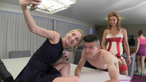 Brat Princess 2: Brianna and Odette - Pegged by Mother for Sisters Birthday Breakfast (720 HD)