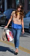 Джордана Брюстер, фото 1250. Jordana Brewster - booty in jeans at Byron and Tracey salon in Beverly Hills 03/02/12, foto 1250