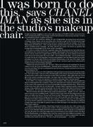Шанель Иман, фото 7. Chanel Iman - Flare Canada - Oct 2010 (x12), photo 7