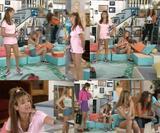 Laly, Laure & Linda (french actress) @ LMDLA : legs & bath ( 2 vids)